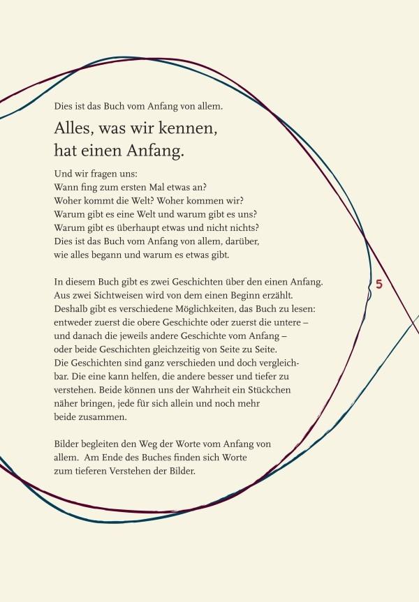 Das Buch vom Anfang von allem | Rainer Oberthür